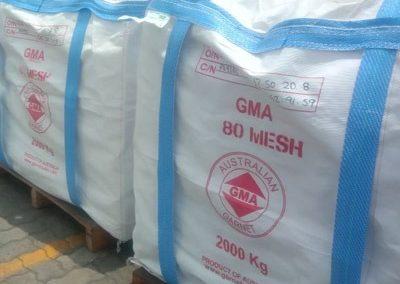 GMA 80 Mesh packing @25 kg/paperbag